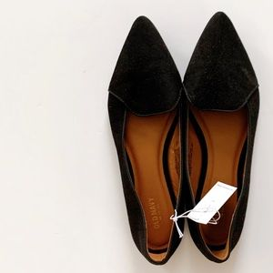 Old Navy Faux Suede Pointed Toe Flats
